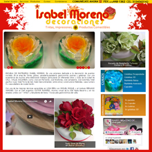 paginas web cali - Isabel Moreno Decoraciones